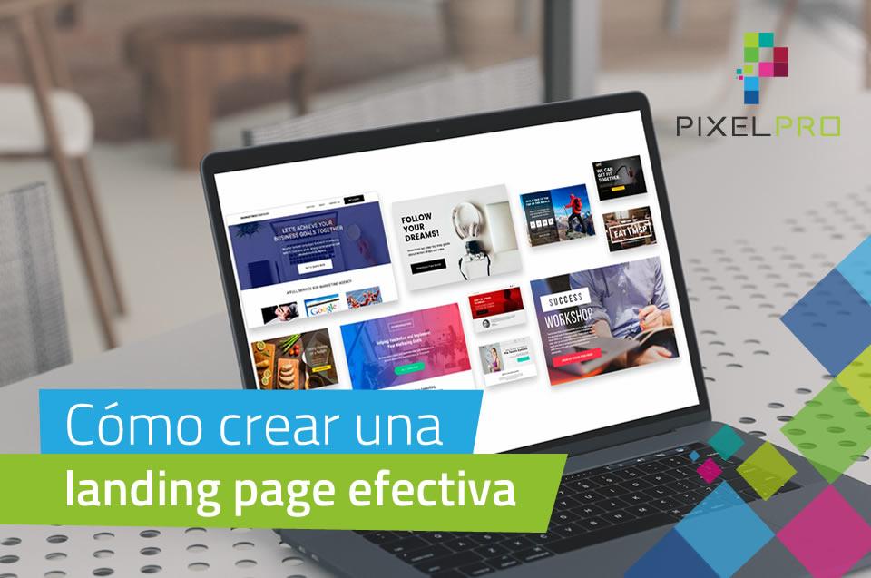 crear una landing page efectiva