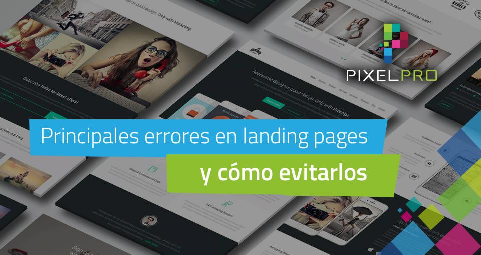 Principales errores en landing pages y como evitarlos