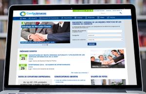 Intranet Confecámaras - Diseño Web y Marketing Digital