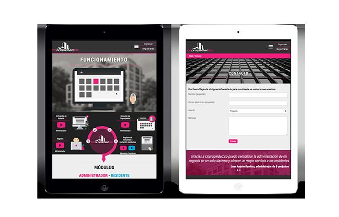 Diseño web-Copropiedad.co