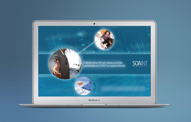 SOAINT sitio web